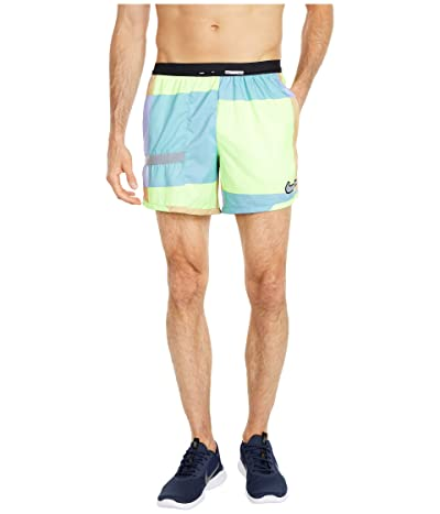 Nike Flex Stride Ultra Windrunner Print (Ghost Green/Cerulean/Reflective Silver) Men