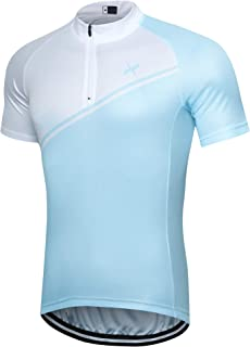 Xtextile Cycling Jersey Short Sleeve Breathable Quick-Dry Biking Shirt