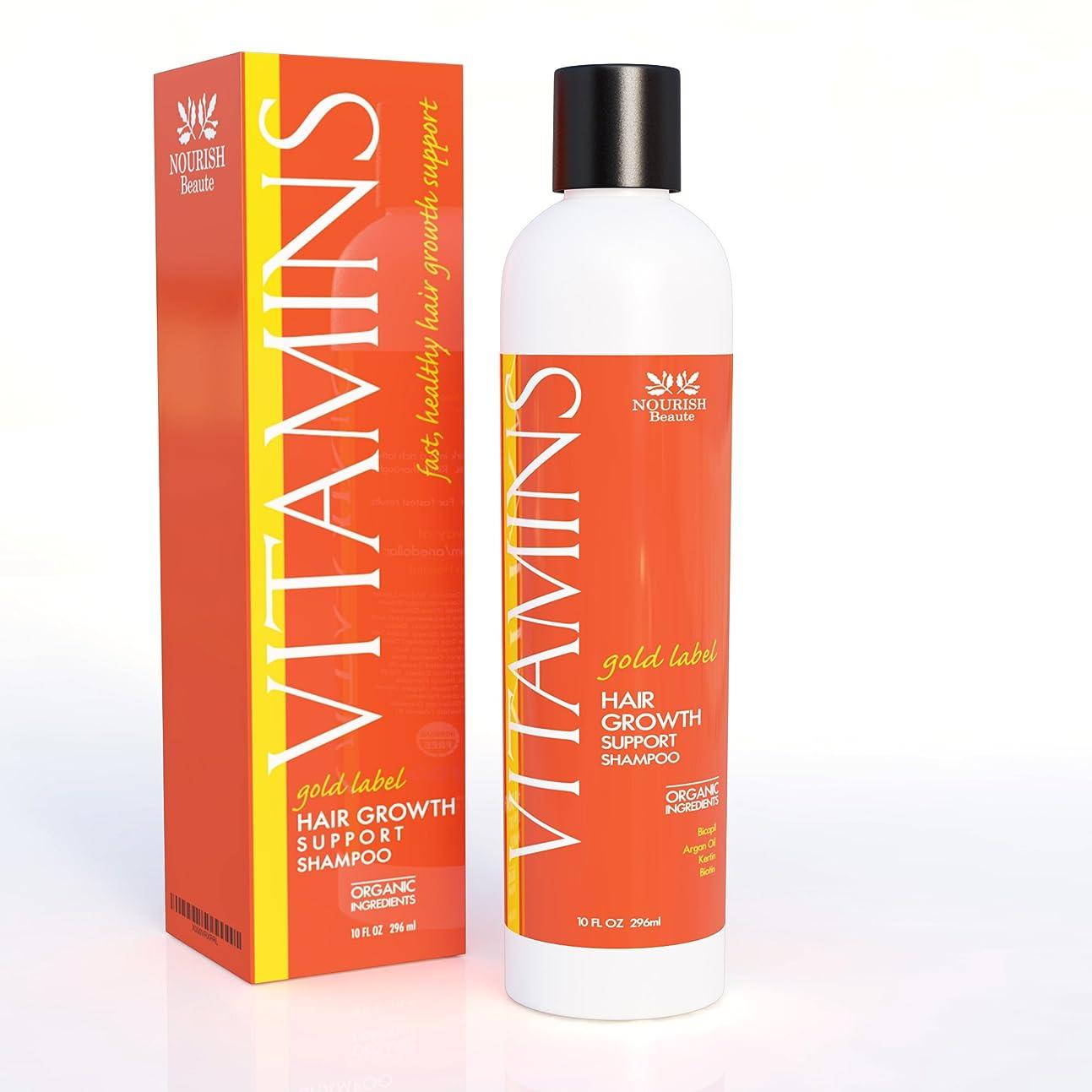 マガジン言うがんばり続けるPREMIUM Vitamins Hair Growth Shampoo プレミアムビタミンヘア成長シャンプー