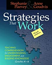 Sponsored Ad - Strategies That Work, 3rd edition: Teaching Comprehension for Engagement, Understanding, and Building Knowl...