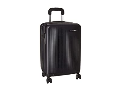 Briggs & Riley Sympatico Domestic Carry-On Expandable Spinner (Black) Luggage