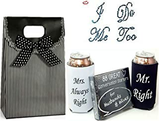 1 Big Dream Gift Bundle includes Shoe Stickers, Can Coolers Conversation Starters Husbands Wives