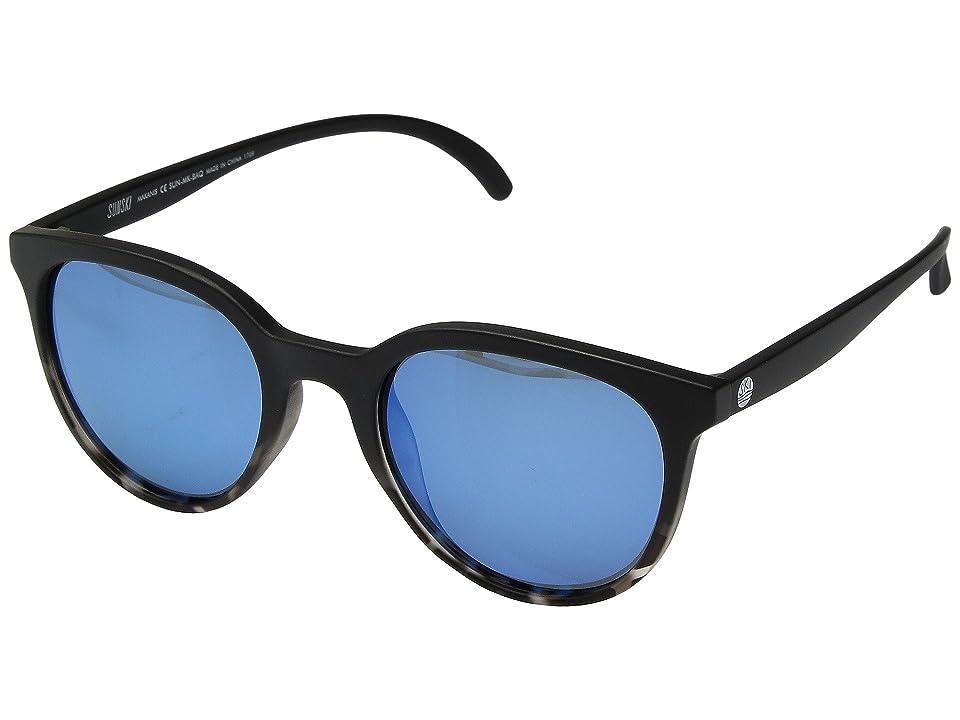 Sunski Makani (Black Tortoise/Aqua) Sport Sunglasses