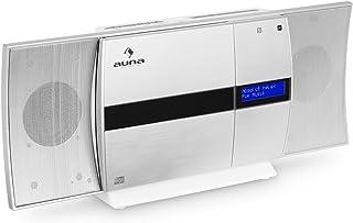 auna V-20 - Equipo estéreo , Minicadena , Reproductor de CD , Dab+ , Radio FM , Bluetooth , NFC , USB , MP3 , Mando a Dist...
