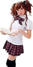 Lingeriecats Japaness AV Style School Girl Cute Scottish Student Uniform Cheerleader Sweet Heart Sailor Costume
