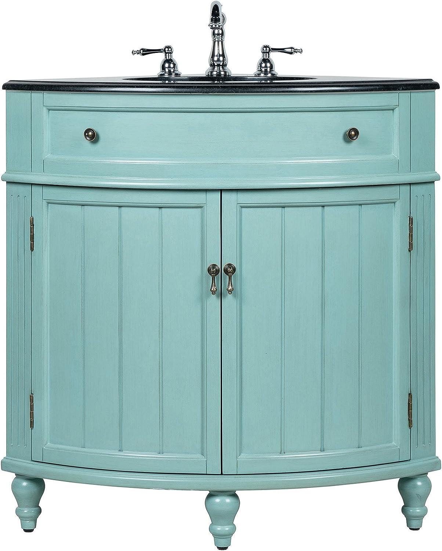 "24"" Benton Recommended Collection Thomasville Corner Blue Slim Bathroom Max 43% OFF"