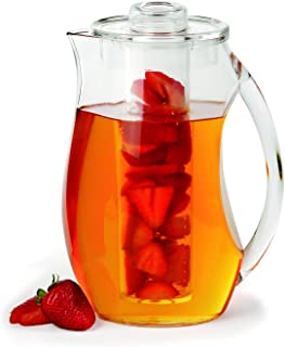Best glass fruit infuser pitcher Reviews