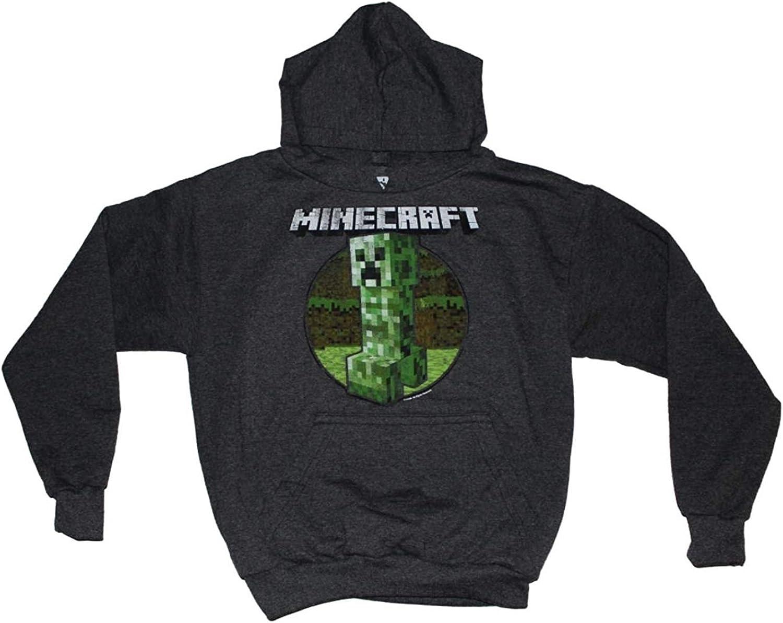 Minecraft Boys Creeper Pullover Hoodie