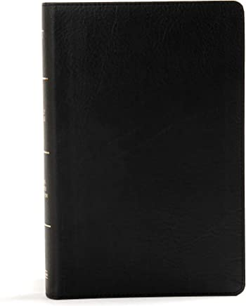 Holy Bible The Old and New Testaments: King James Version, Large Print, Personal Size, Reference, Black Leathertouch