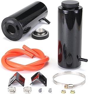 C-FUNN 800 Aleación De Aluminio Negro Universal De Radiador De Refrigerante Tanque De Captura