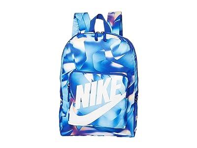 Nike Kids Classic Backpack (Little Kids/Big Kids) (Racer Blue/Racer Blue/White) Backpack Bags