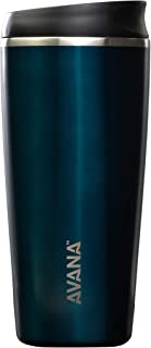 Avana C03638 Sedona Stainless Steel Double-Wall Insulated Thermal Tumbler, 20oz, Deep Ocean