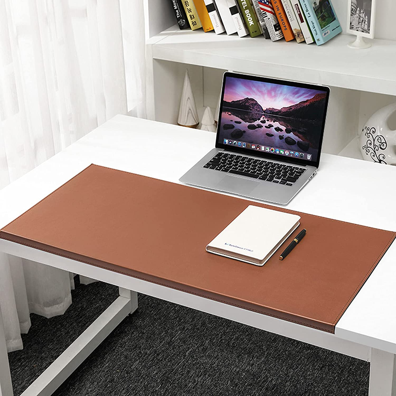 Leather Desk Max 76% OFF Pad Manufacturer direct delivery Gaming Writing Lip Protectio Edge with