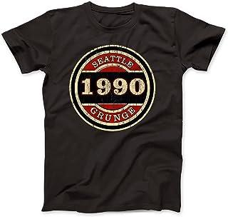 Seattle Grunge 1990 Camiseta 100% Algodon