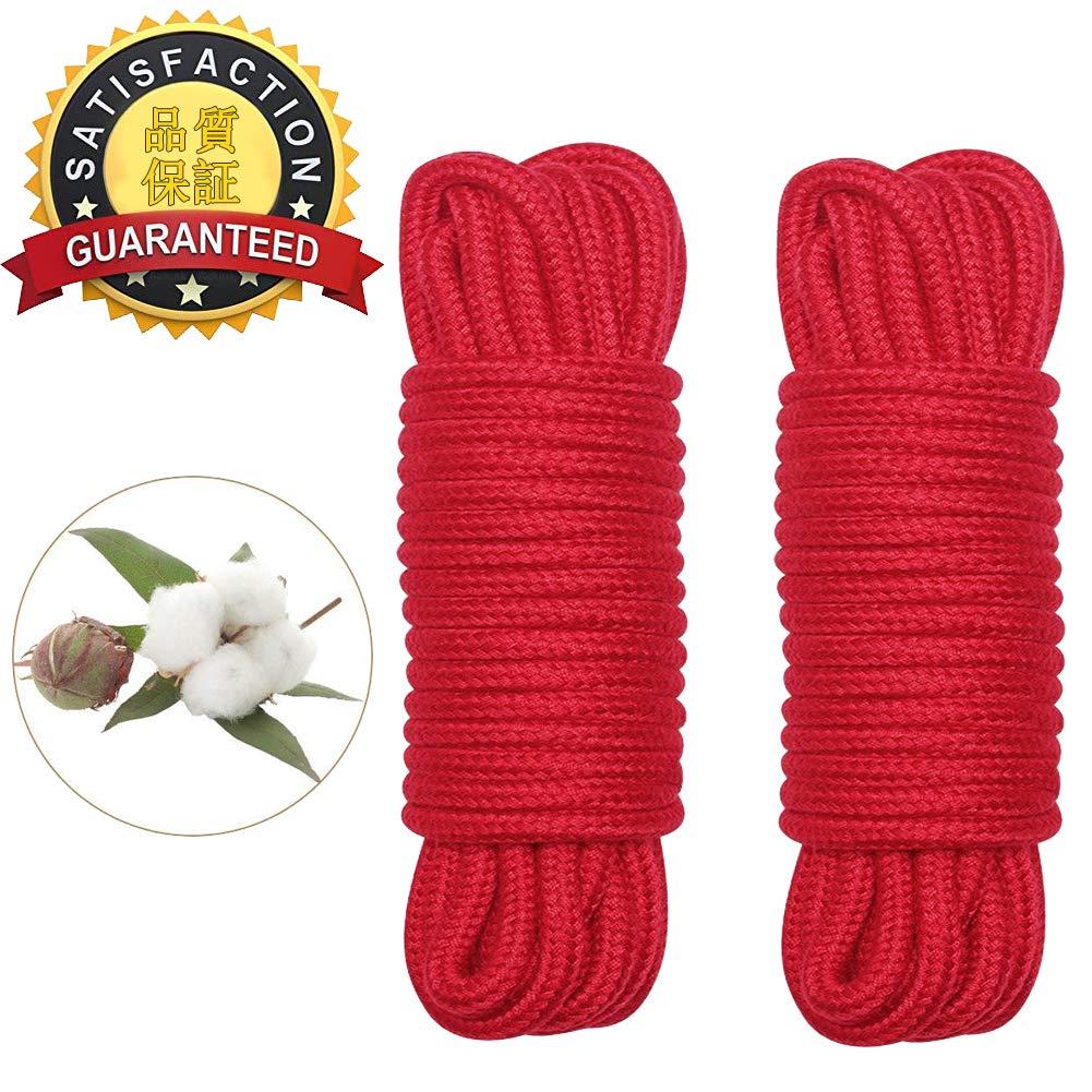 Hovome - Cuerda de algodón suave para cortar las manos y los pies ...