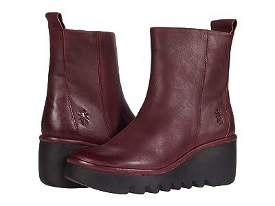 FLY LONDON BALE250FLY (Wine Verona Leather) Women