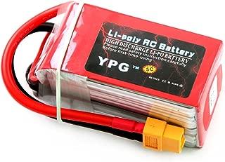 GARTT YPG 1800mAh 14.8V 70C 4S LiPo Battery With XT60 Plug For RC Mini Racing Drone FPV Quadcopter, Perfect For 210 Quad Frame, Eachine Wizard x220, 250 Racer, AR Drone 2.0, Walkera F210, etc.