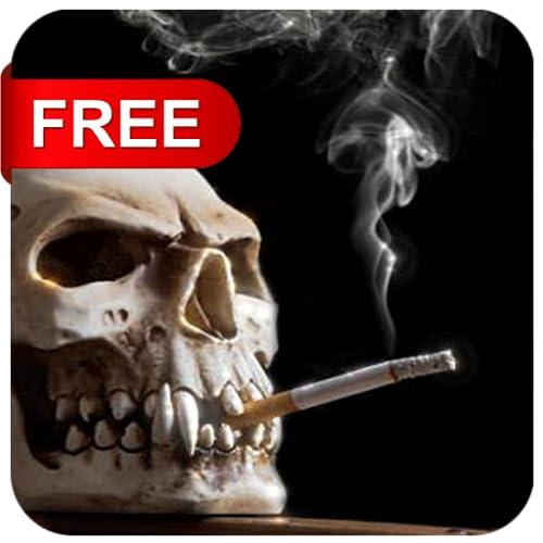 Caveira Fumando - Smoking Skull