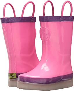 Western Chief Kids - Tech Solid LED Rain Boots (Toddler/Little Kid/Big Kid)