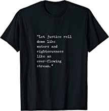 Let justice roll down like waters T-Shirt Flynn Trump