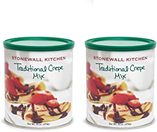 Stonewall Kitchen Traditional Crepe Mix - 16 Ounce - 2 pack