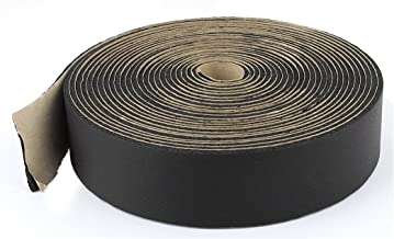 Aexit Black Self-Adhesive Wiring & Connecting Elastomeric Insulating Tape Wire Heat-Shrink Tubing Protector 10M