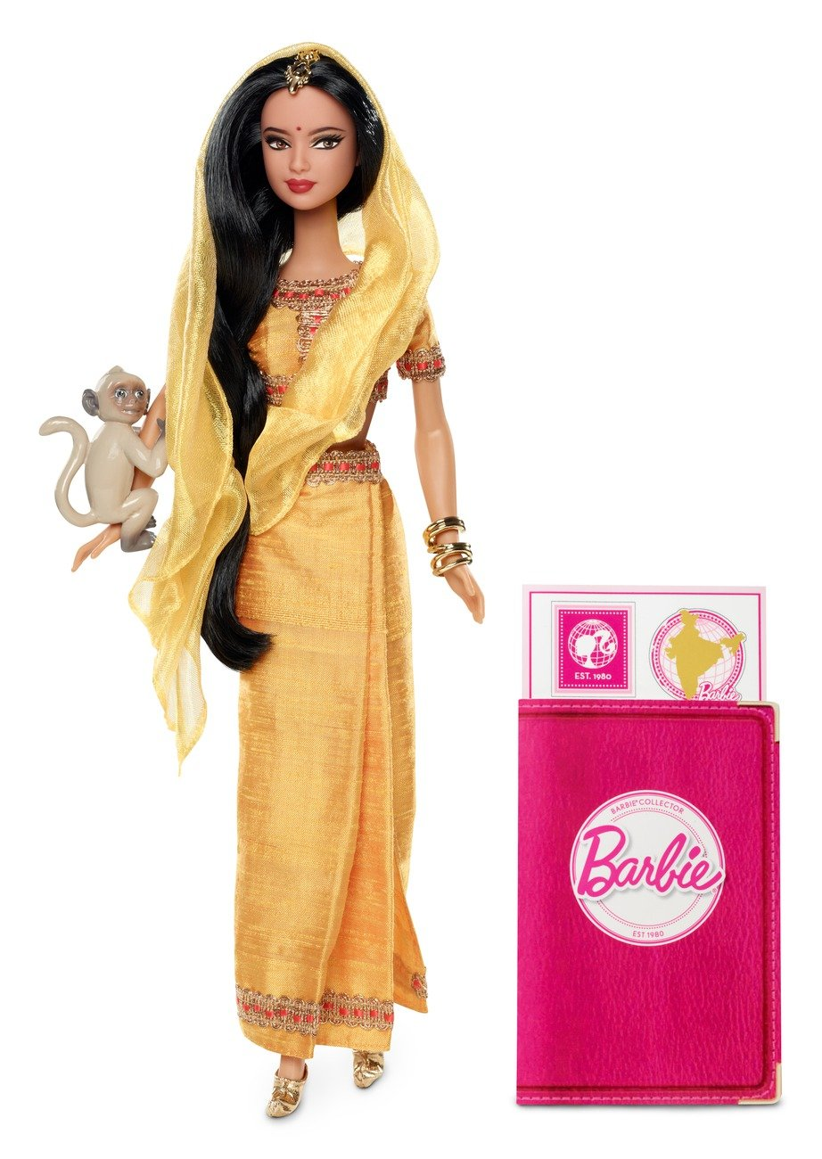 Amazon.es: Barbie - Muñecas del Mundo: India (Mattel W3322): Juguetes y juegos