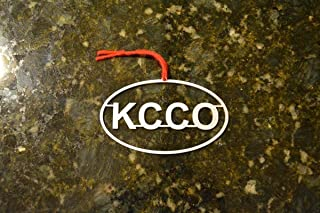 Keep Calm and Chive On Christmas Ornament Aluminum Oval KCCO