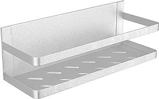 Subtraction Fridge Spice Rack Organizer Single Tier Magnetic Refrigerator Spice Storage Magnet Shelf cxbxj-w1
