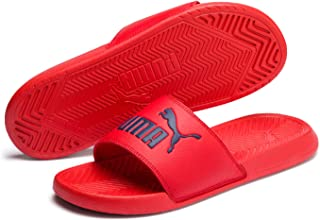 PUMA 中性款 popcat Slide 合成凉鞋