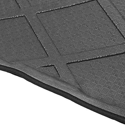 lowest Mallofusa outlet online sale Cargo Liner Rear Cargo Tray Trunk discount Floor Mat Compatible for Jeep Compass 2007 2008 2009 2010 2011 2012 2013 2014 2015 2016 Black sale