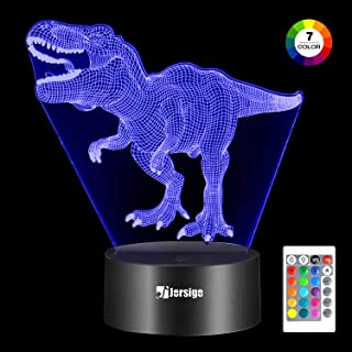Jersige 3D Night Light (Dinosaur)