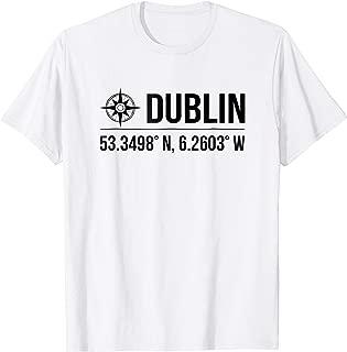 dublin ireland coordinates