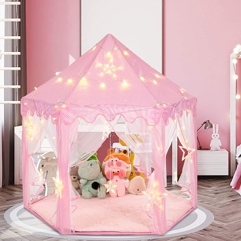JOYMOR Princess Tent with Large and Small x 55
