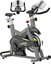 Sponsored Ad - pooboo Magnetic Exercise Bikes Stationary Bike Belt Drive Indoor Cycling Bike Fitness Bike for Home Cardio ...