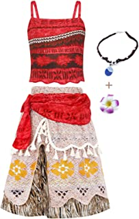 Jurebecia Princess Costume Girls Crop Top Tassel Skirt Dress Up Party Cosplay Clothes Set Kids Outfits
