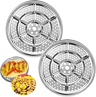 2 PACK 11 Inch Canner Racks,Pressure Cooker Canner Rack,Stainless Steel Canner Racks for Cooking,Baking