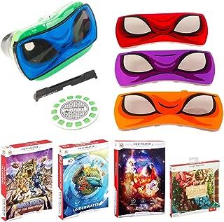 Mattel View Master Teenage Ninja Turtle Viewer w/ Five View-Master Experience Packs
