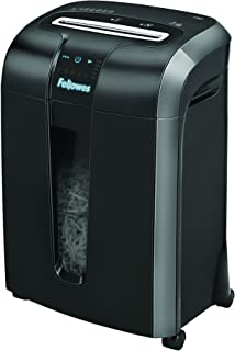 Fellowes Powershred 73Ci 100% Jam Proof 12-Sheet Cross-Cut Paper and Credit Card Shredder