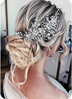 Best silver hair accessories for weddings Reviews