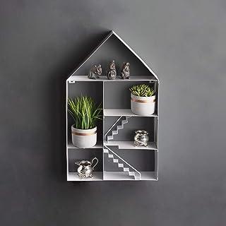 garden mile® Duży 59 cm metalowy pływający dom dekoracyj