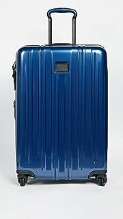 TUMI - V3 Short Trip Expandable Packing Case Suitcase - Medium Hardside Luggage - Deep Blue