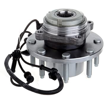 Front 515020 Wheel Hub Bearing Assembly for 1994-2004 Ford 8 Lugs W//ABS ECCPP