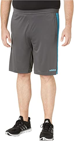 Big & Tall D2M 3-Stripe Shorts