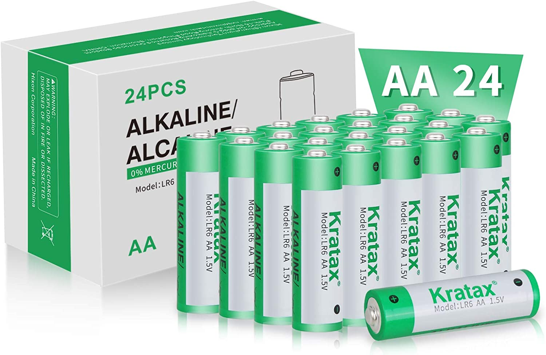 lowest price AA Alkaline Batteries Austin Mall Long-Lasting Kratax