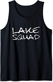 Lake Squad Shirt | Lake Bum Shirt | Camping Boating Tee Gift Tank Top
