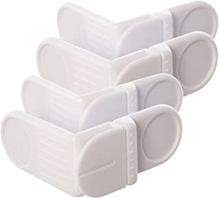 Dreambaby Angle Locks, White, 4 Pack