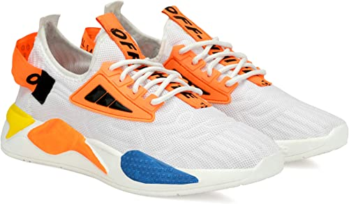 Men Casual Sneakers Running Sports Shoes In Mesh Lightweight Air Shoes Made In India