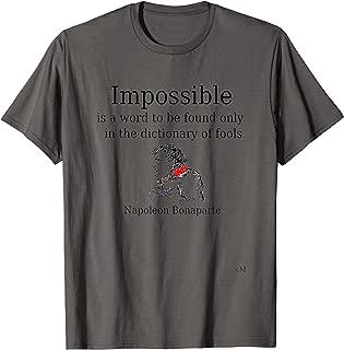 Napoleon Bonaparte tshirt T-Shirt