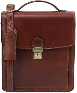 Tuscany Leather David Borsello in pelle a tracolla - Misura piccola